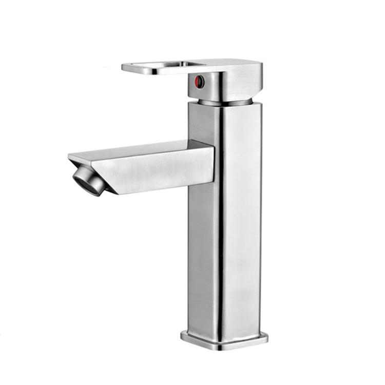 ABLinox нержавеющая сталь ванный кран для раковины, кран для Однорычажный смеситель для кухонной раковины ванной комнаты раковина кран