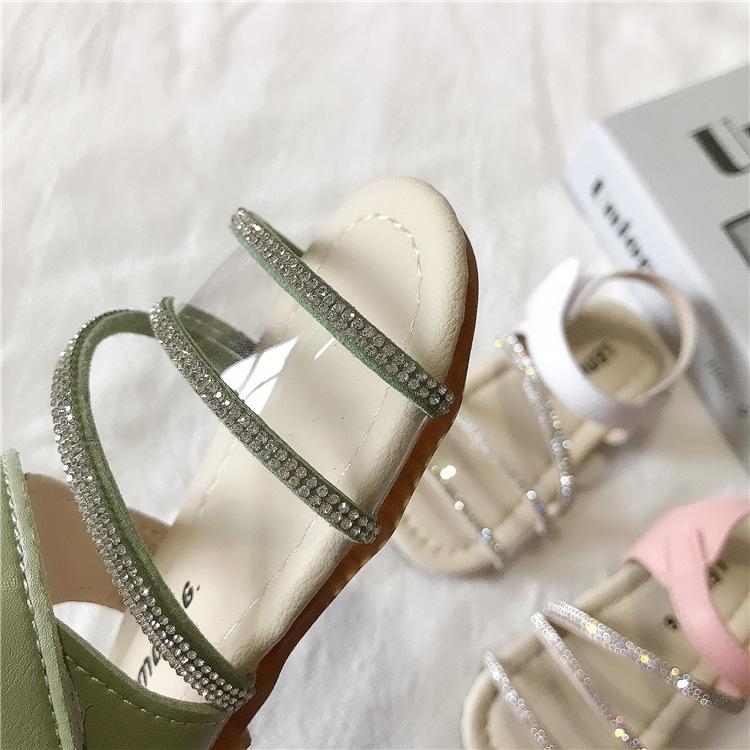 2021 детское праздничное платье высокого качества детская пляжная обувь с мягкой подошвой сандалии MSgx-29