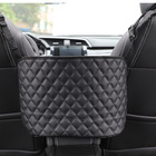 Bag Leather Car Net Pocket Handbag Holder Seat Back Hanging Storage Bag