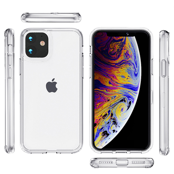 For iPhone 11 Case,High Quality Transparent Clear Acrylic Cover Phone Case For iPhone 12 Pro Max For iPhone XS MAX XR 7 8 Plus