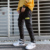 New men Loose Falling feeling Big pocket Harem pants fashion Slim fit Handsome boy Leisure Beam foot Cargo pants