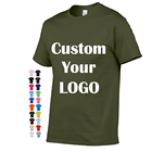T-shirt Shirt Design Shirt 2020 Summer Custom Printing 100% Cotton T-Shirt Personalize Soft Blank T Shirt