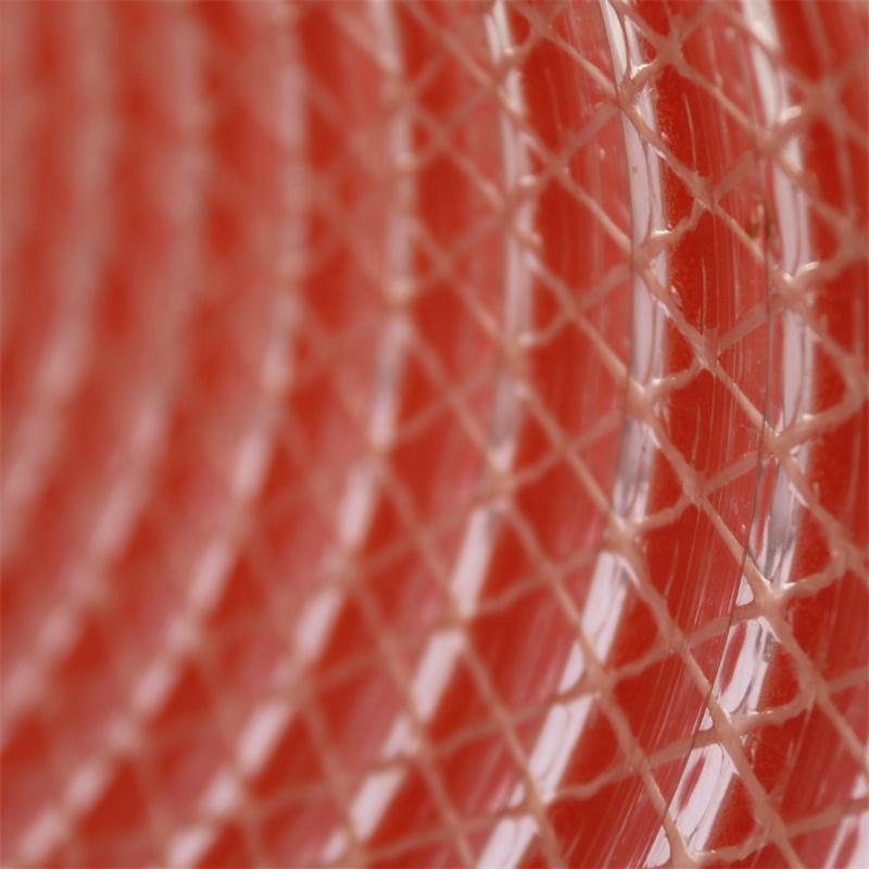 orange fabric reinforced pvc suction discharge hose vinyl tube pvc suction fiber composite hose