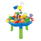 Huiye Water Table Kids Water Play Table Sand Beach Toys Kids Summer Toys DIY Assembly Table Beach Sand Toys For Kids