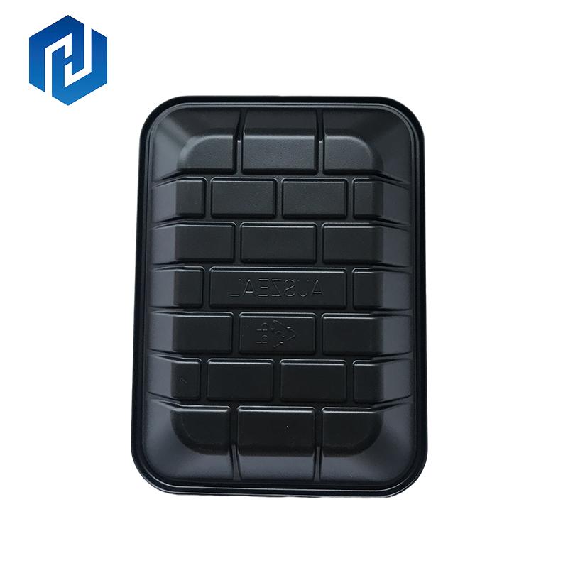Пластиковый пищевой контейнер PP, 1 отсек, можно использовать для микроволновки, контейнер для замороженного мяса, упаковочная коробка