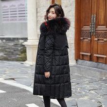 Женская куртка с капюшоном, теплая куртка с двойным Сидом, зимняя парка высокого качества, новинка 2019(Китай)