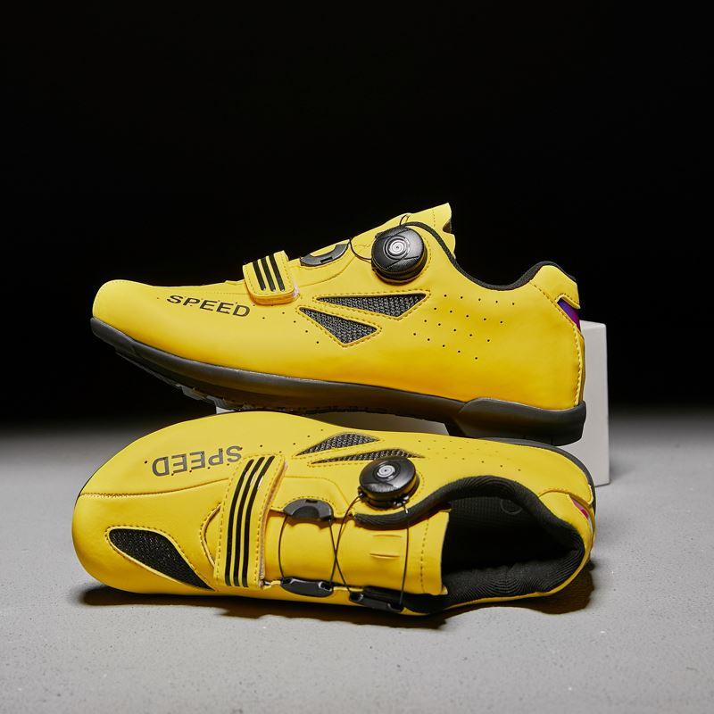 Кожа микрофибра верхний цикл обуви MTB большой размер дорожный велосипед обувь для мужчин Спорт Велоспорт кроссовки самоблокирующийся