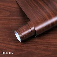 Деревянные ПВХ обои для кухни отремонтированные фильмы шкаф для одежды Шкаф Дверь мебель для дома Офис настенный Декор стикер(Китай)