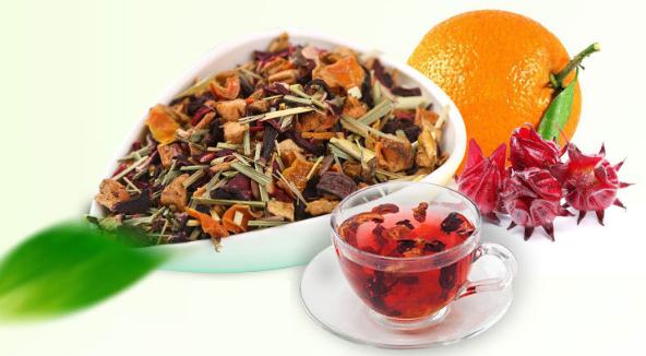 T230 Top grade chinese herbal flower tea Vibrant oranges fruit tea for sale - 4uTea   4uTea.com