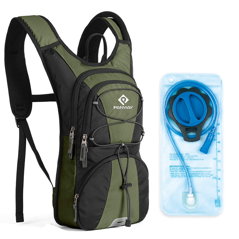 Professional Lightweight Drink Packs Bike Trekking Cycling hydration backpack with 2L Water Bladder