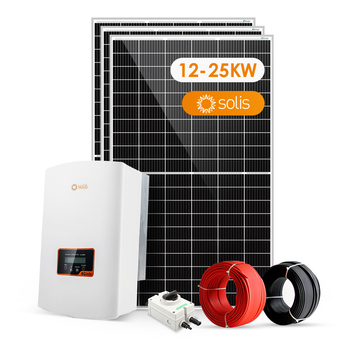 Sunpal On Grid Solar System 12Kwp 15Kwp 20Kw 20Kw Solar Power System For Home