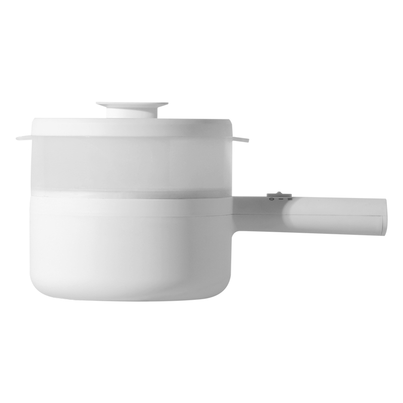 Japan Best Seller Multi-function Electric Cooking Pot Non-sticky Intelligent  Cooking Soup Hot Pot  1.5L Mini  Electric Skillet