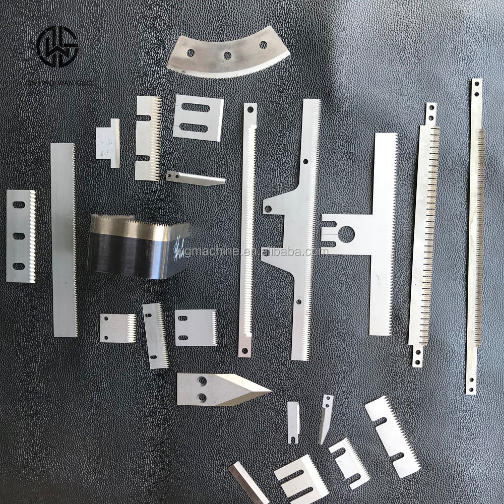 Packaging machine blade Packing Heavy Duty Sealing Jaws Knife Avail Cutter Blade