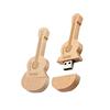 Creatieve houten gitaar USB flash disk