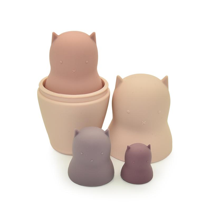 Детские мягкие игрушки, сенсорные силиконовые Развивающие игрушки для кошек, Силиконовые Прорезыватели для зубов, игрушки для малышей