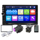"2 din Car Stereo 7"" HD Car Radio BT FM Audio MP5 Player 2din Autoradio Support Rear View Camera 7018B Radio Car"