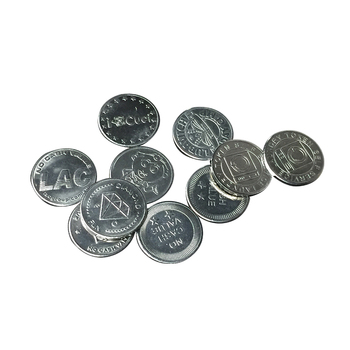 Wholesale Custom Amusement Arcade Token Coins