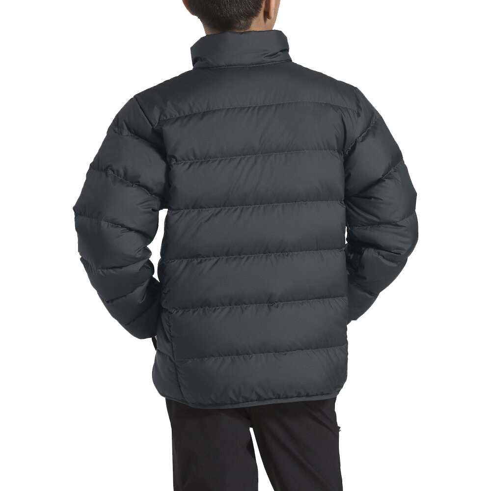 Kids Down Jacket With High Neck Warming Collar