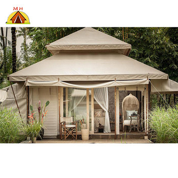 Outdoor camping resort glamping tree tent lodge hotel tents