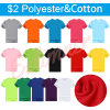 Polyester & Cotton