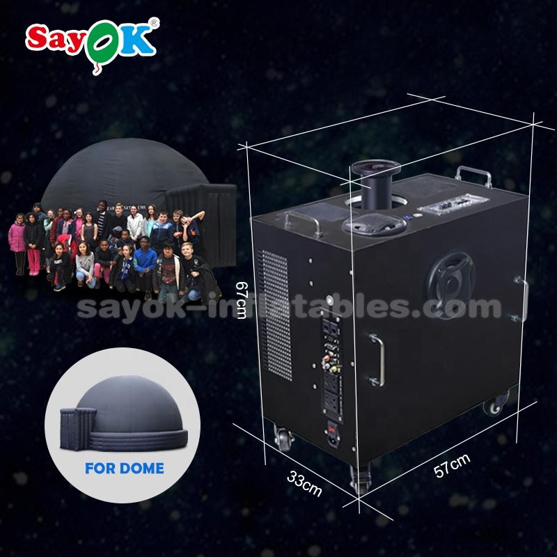 360 градусов Fulldome портативный планетарный проектор с объективом «рыбий глаз»