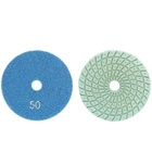 Pad Resin Pads Customized Size 3 Inch Marble Granite Diamond Polishing Pad White Buff Wet Resin Polishing Floor Pads For Stone