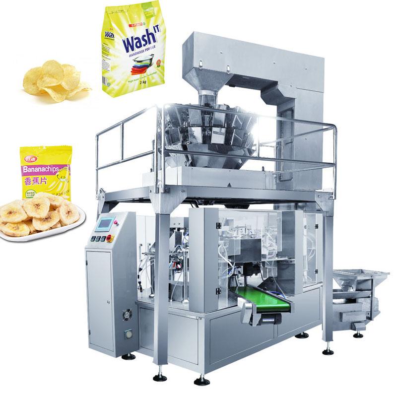 Automatic Sugar Leaves Tea Kraft Paper Bag Filling Sealing Packing Machine