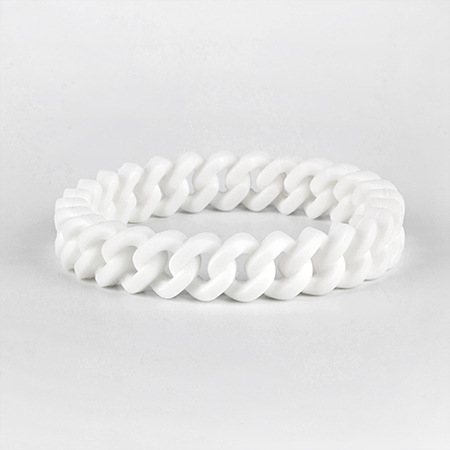 Personalized camouflage color hollowed out bracelet wrist band silicone twist bracelet for men and women