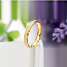 Stamped Wedding Ring Rings Wedding Rings Wedding Wholesale Stainless Steel Jewelry Mini Cz Micro Setting Stamped 18k Gold Wedding Ring Favor Decorations Manufacturer