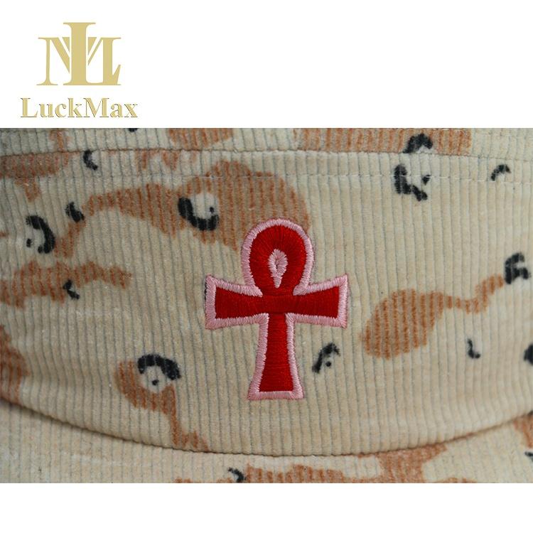 Custom 5 Panel Cap Unisex at All Ages Outdoor Activities Cap Gorra Melon Cap Corduroy Hat Logo Embroidered Adjustable Starpback