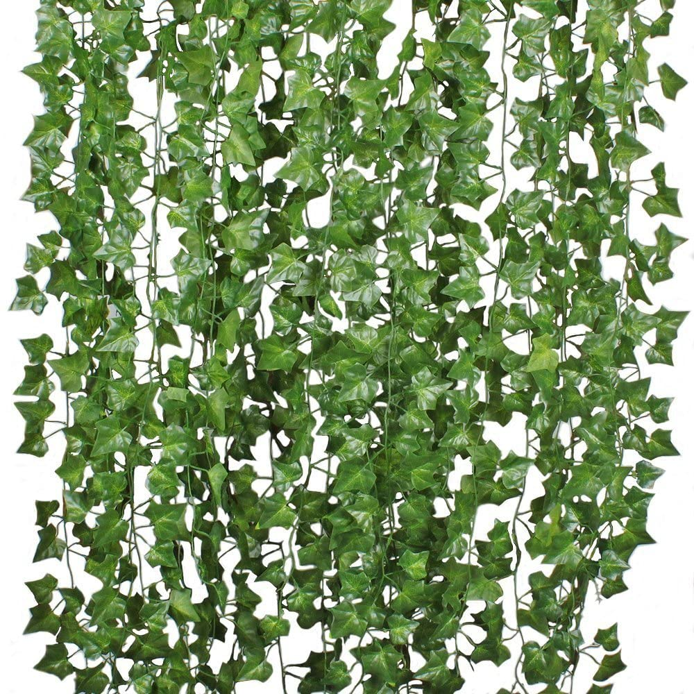 2 Pieces Artificial Garland Ivy Vines Hangings For Wedding Decoration