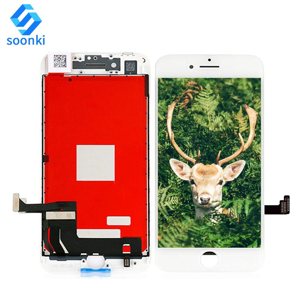 Бесплатная доставка для iphone 8 Дисплей lcd панель экран оптовая продажа для iphone 8g сенсорный экран lcd