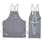 Garden Garden Apron Ready Canvas More Pockets Waterproof Kitchen Garden Apron