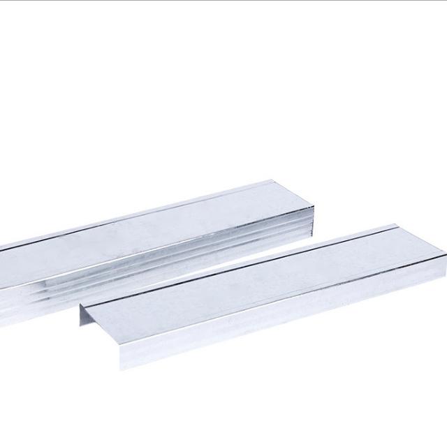 Manufacturers direct suspended ceiling light steel keel U - shaped light steel keel partition keel enterprise