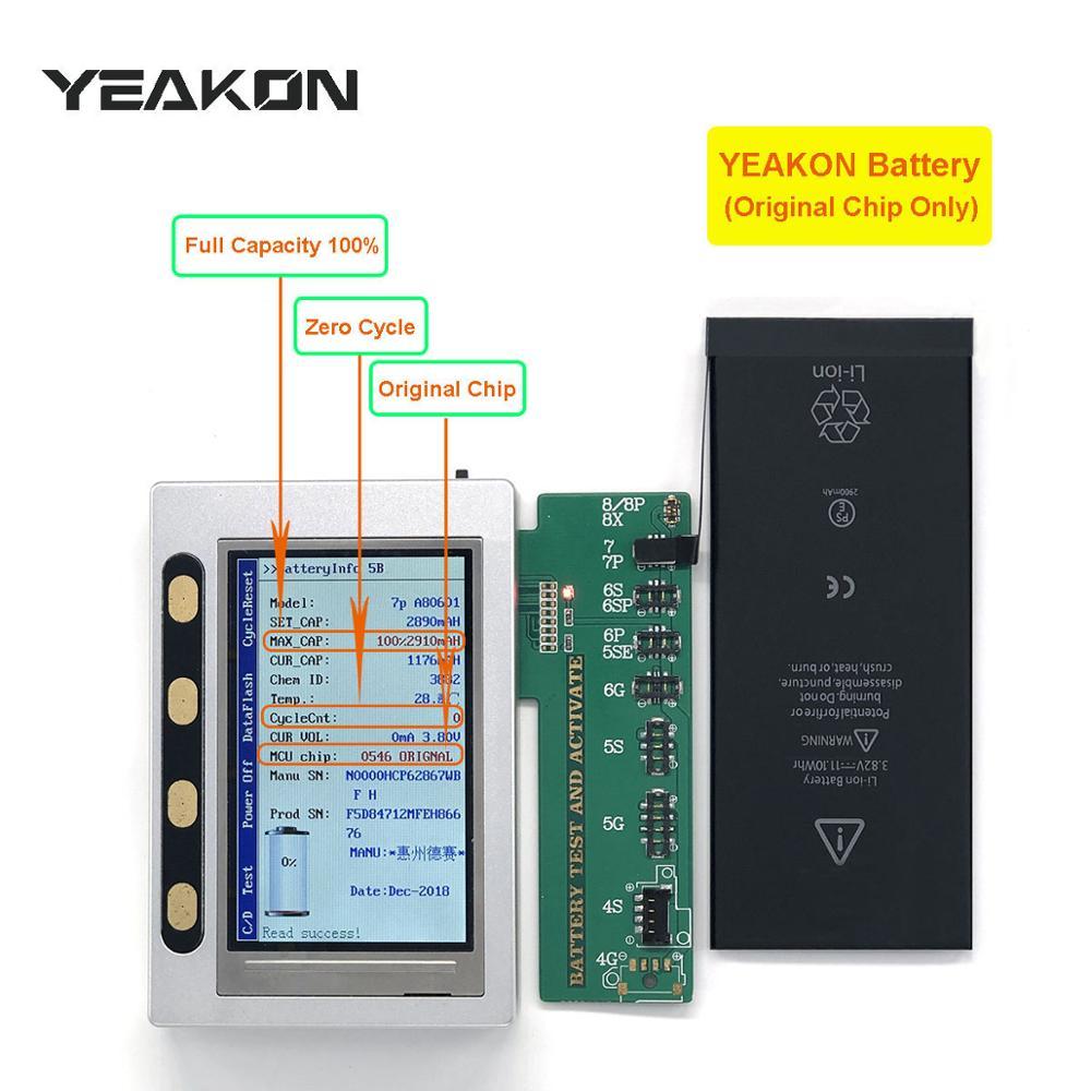 Аккумулятор для мобильного телефона 3,8 в, 2900 мАч, высокая емкость, нулевой цикл, абсолютно новый аккумулятор, замена батареи для iPhone 7 Plus
