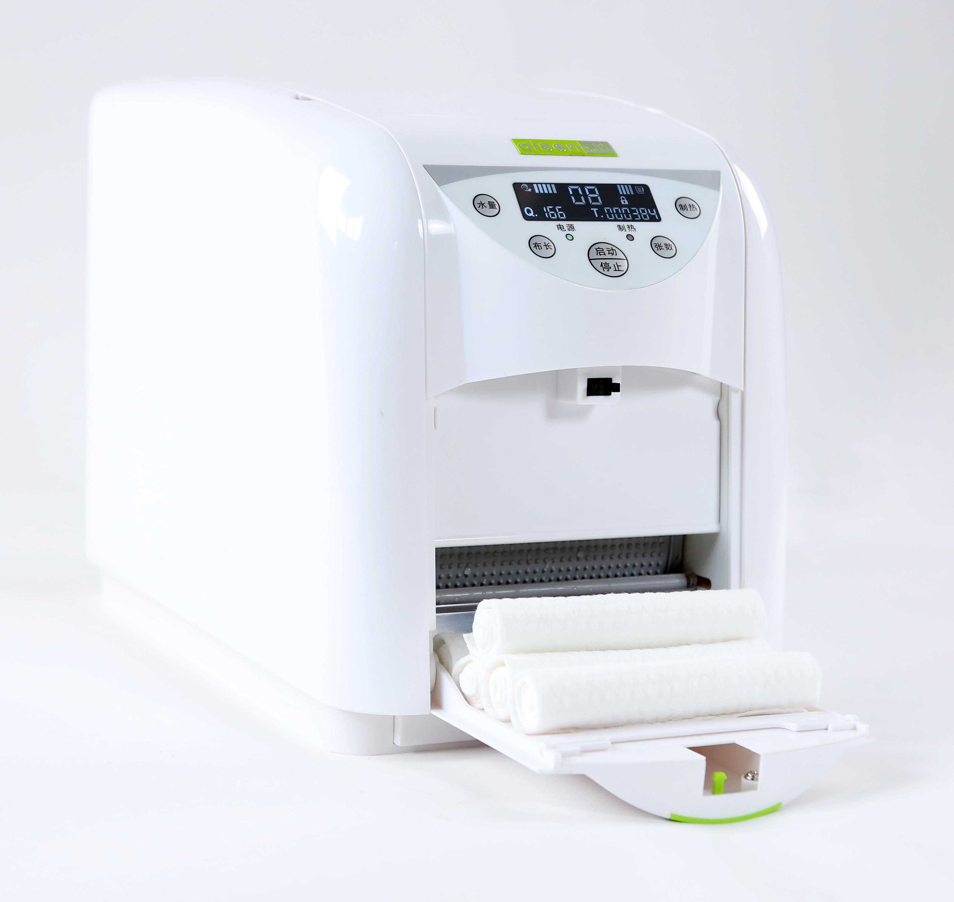 Диспенсер для полотенец SJJ-120B микро программируемый с ЖК-дисплеем уход за кожей мягкое полотенце нетканое полотенце