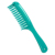 Double Row Tooth Detangler Hair Comb Shampoo Comb With Handle für Long Curly Wet Hair