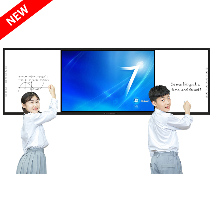 NEW ARRIVAL Big Size lavagna magnetica multi functional touch tv trainer game blackboard with built-in laptop available - Yola WhiteBoard | szyola.net