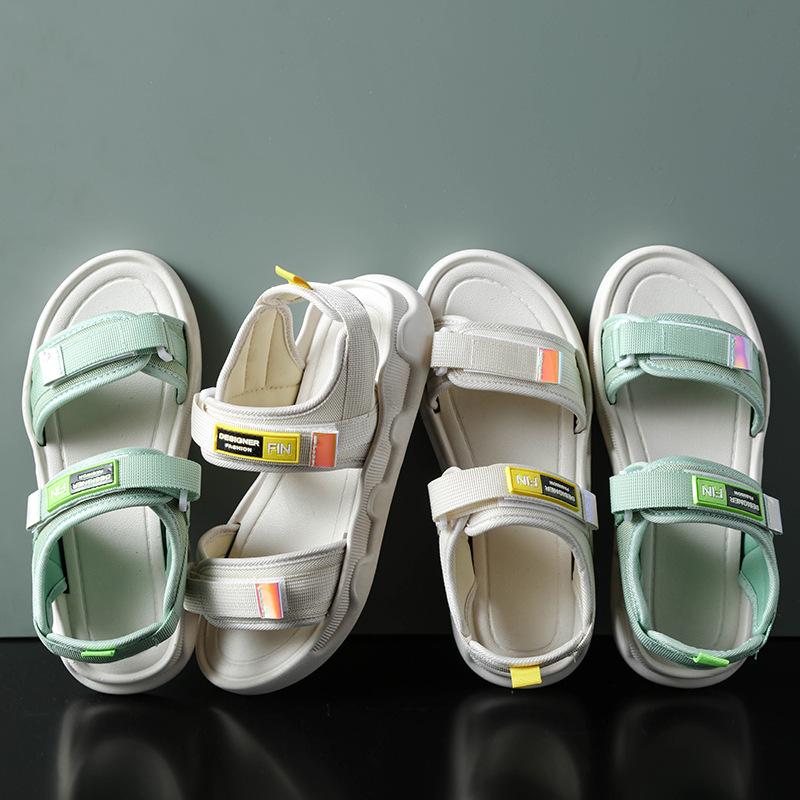 Распродажа от китайского производителя, мужские тапочки Eva, летние Нескользящие сандалии на плоской подошве