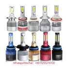 High Power Super Bright low Beam Led Headlight bulbs H7 h4 led,Auto Car H13 H1 H3 9005 9006 880 H11 H7 H4 S2 C6 Led Headlight