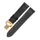 Leather Strap Hot Selling Alligator Leather Strap Round Waterproof Leather Strap Watch Band