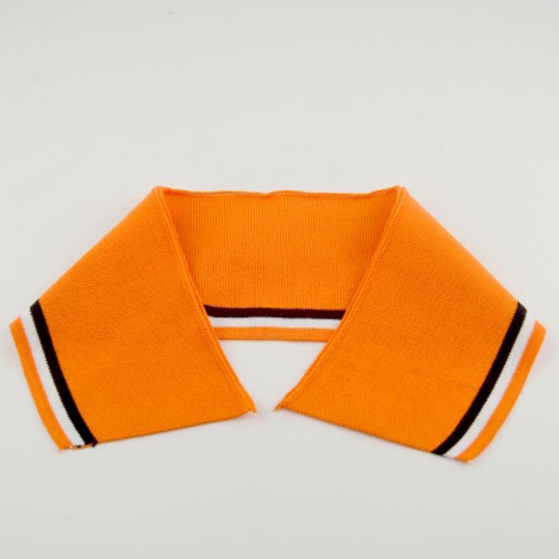 Strip Knitting Cotton Rib Cuff collar fabric for Clothing Accessories