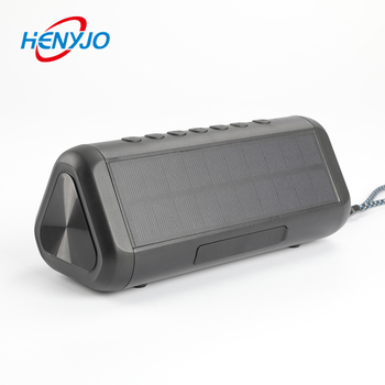 Solar Speaker with 5000mAh Power Bank Portable Wireless Speaker 50+Hours