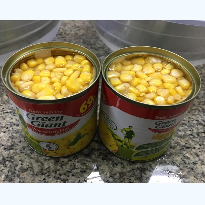 Manufacturer of Canned Sweet Corn Easy Open good taste Sweet Kernel Corn in Can