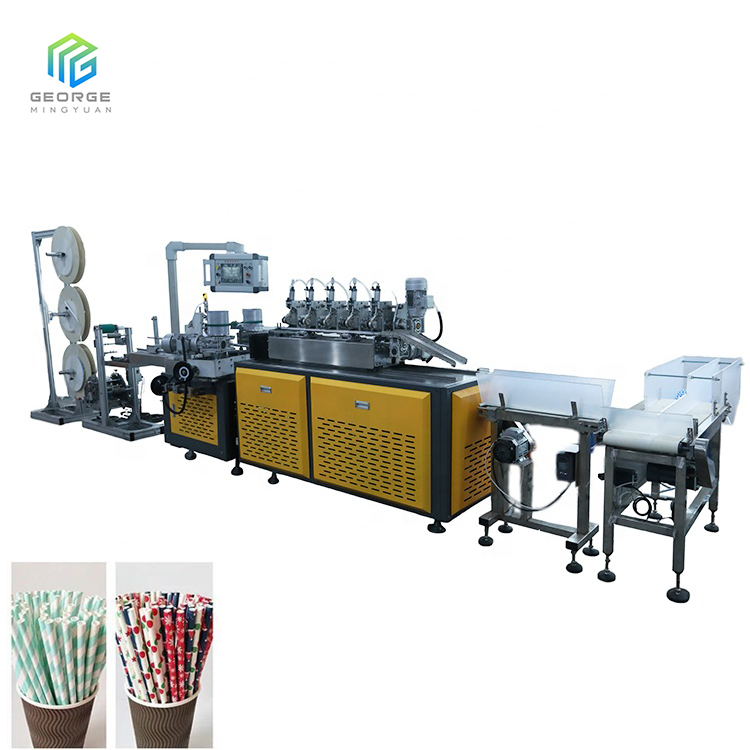PS-80 Automatic Paper Drinking Straw Making Machine,Paper Straw Making Machine Prices