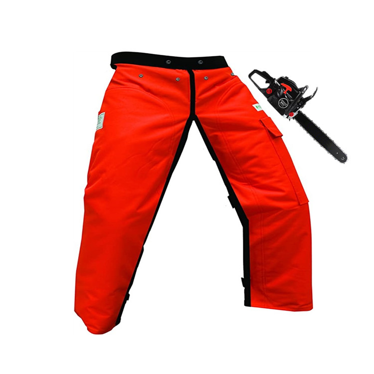 hot promotion factory supply quality online sell Orange 35 Length Chainsaw Apron safety pants Chaps with Pocket - KingCare | KingCare.net