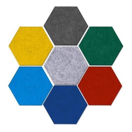 Hexagon Felt Pin Board Self Adhesive Notice Bulletin Memo Photo Boards - Yola WhiteBoard   szyola.net