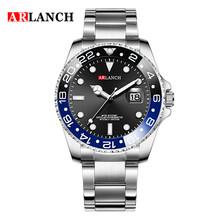 Повседневные спортивные часы для мужчин, Золотой Топ бренд, роскошные мужские наручные часы из нержавеющей стали, Rolexable часы, модные водонеп...(Китай)