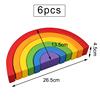 6 pcs rainbow
