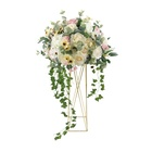 Flowers Wedding Center Pieces Flower Wedding Flowers For Decoration Wedding Artificial Artificial Silk Fabric Flowers For Wedding Table Center Pieces Wedding Flower Ball Decoration
